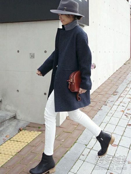 短靴搭配图片 冬季这样穿才叫美